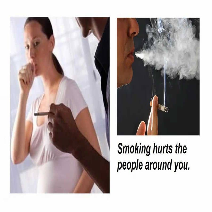 effects of second hand smoke and pregnancy