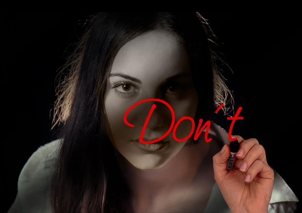 don't start again